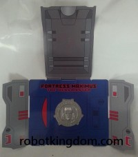 Transformers News: Additional Images of Takara Tomy Transformers Encore #23 Fortress Maximus Packaging and Promotional Items