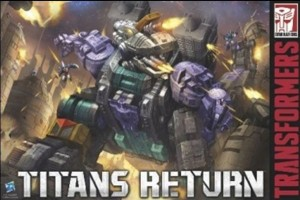 Titans Return Trypticon Boxart