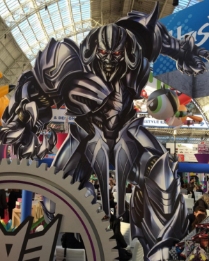 Transformers News: Giant Cut Outs of Megatron, Optimus Prime and Bumblebee from Transformers: The Last Knight