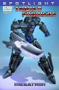 Transformers News: Seibertron.com Reviews IDW Transformers Spotlight: Megatron