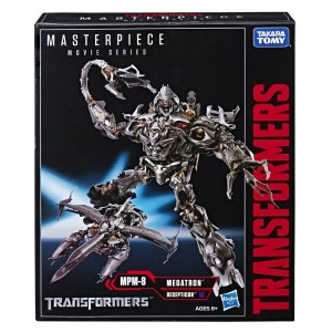 New Stock Images of Transformers Movie Masterpiece MPM-08 2007 Megatron