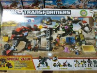 "Transformers News: Toys""R""Us Exclusive Kre-O Transformers Devastator with Bonus Ironhide Set"