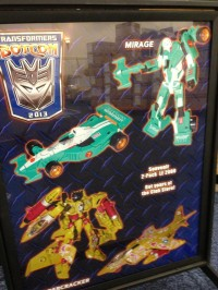 Transformers News: First Look at BotCon 2013 Exclusives Machine Wars Mirage and Thundercracker 2-Pack