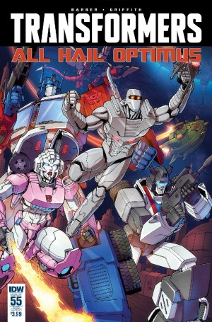 IDW The Transformers #55 3-Page iTunes Preview