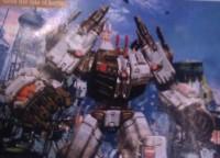 Transformers: Fall of Cybertron Metroplex Image