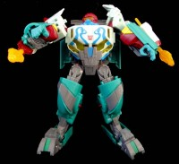 Transformers News: BotCon 2012 Octopunch robot-mode images