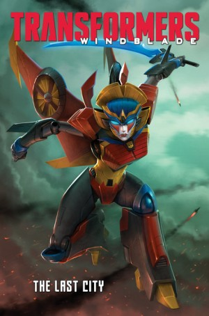 Transformers Windblade: The Last City Listed by Penguin Random House