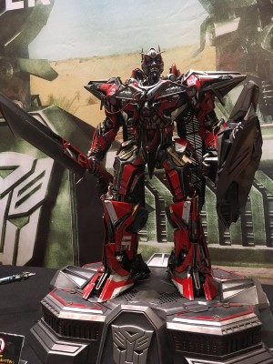 First Look at Prime 1 Studio Transformers Dark of the Moon Sentinel Prime #ワンフェス #wf2018s
