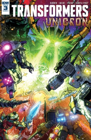 iTunes Preview for IDW Transformers: Unicron #3
