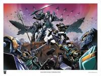 Transformers News: BotCon 2013 Lithograph Revealed