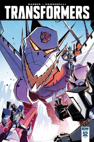 Transformers News: IDW The Transformers #52 Griffith / Burcham and Burcham Covers