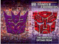 Transformers News: The Eulogy for Transformers Ongoing - Reviewing 'The Death Of Optimus Prime' One-Shot