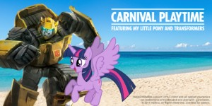 Transformers News: First-Ever 'Carnival Playtime' Event Featuring My Little Pony and Transformers-Inspired Activities
