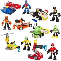 Transformers News: Official Transformers Rescue Bots Wave 1 Images