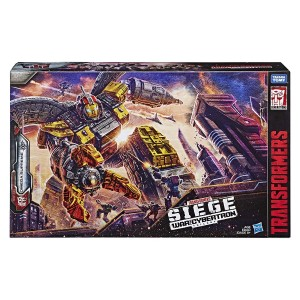 Transformers News: First Video Review for Transformers Siege Titan Class Omega Supreme