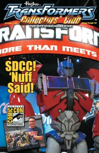 Transformers News: TFCC Magazine Issue 46 Cover and Preview