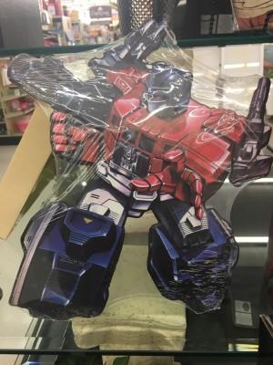 Transformers News: New Hobby Lobby Powermaster Optimus Prime Metal Wall Hanger Found