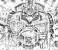 Infestation 2: Transformers #2 Lineart from Guido Guidi