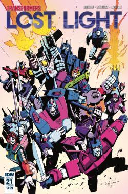 Transformers News: iTunes Preview for IDW Transformers: Lost Light #21