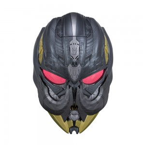 Images and Descriptions of Transformers: The Last Knight Megatron & Bumblebee Masks