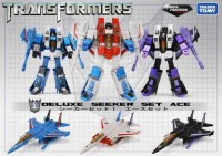 Transformers News: Asian Market Exclusive Deluxe Seeker Set Ace