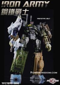 Transformers News: Robotkingdom.com pre-orders for TFC Iron Army