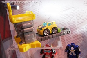 SDCC 2017: Preview Night Transformers Rescue Bots Display with 2017 Toys #HasbroSDCC