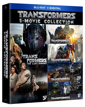 Blu-Ray Boxset of All Five Transformers Movies for $29.99