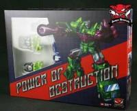 Transformers News: Official Images of Junkion Blacksmith's JB-07 Power of Destruction Upgrade Set