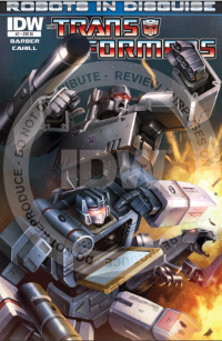 Transformers News: Seibertron.com Reviews IDW Transformers: Robots In Disguise Issue #7