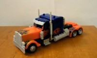 Transformers News: Video Review of Battle Blade Optimus Prime