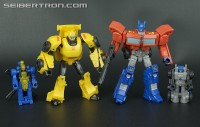 Transformers News: New Galleries: Generations Legends Optimus Prime with Roller and Bumblebee with Blazemaster