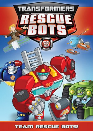 Transformers News: Transformers Rescue Bots: Team Rescue Bots DVD Available at Shout Factory