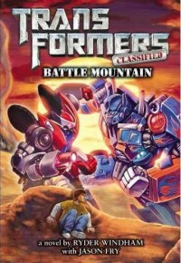 Transformers Classified Book 2: Battle Mountain Cover Revealed