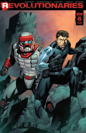 Review of IDW Hasbro Universe's Revolutionaries #6