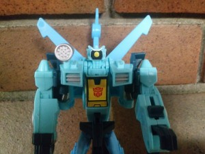 Pictorial Review of Cyberverse Whirl One Step Figure