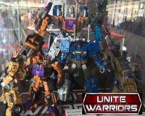 TakaraTomy Transformers Unite Warriors - UW-07 Bruticus On Display