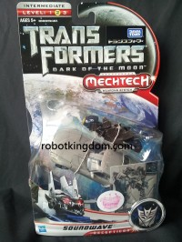 Transformers News: In-Package Images of DOTM Autobot Que, Soundwave, Dark Jetwing Prime, and Alternity Gold Bug