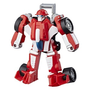 New Rescue Bots Figures of Optimus and Heatwave with Images and Listings