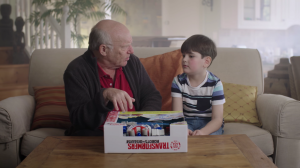 Transformers News: Transformers Robots in Disguise Grandpa Unboxing Power Surge Optimus Prime Short