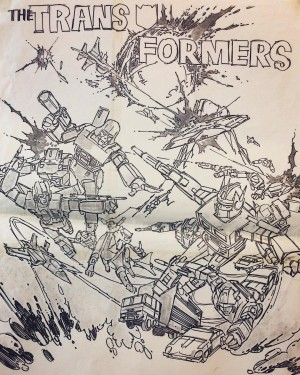 Transformers News: More Previously Unseen Art from Generation 1 Transformers Cartoon