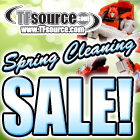TFsource 4-5 SourceNews! Check out our Spring Cleaning Sale!
