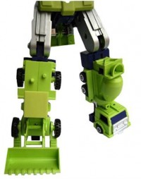 Transformers News: Preorder Silver Version CDMW-02 Construction Brigade Hips / Waist