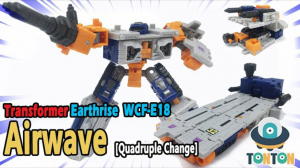 New Video Reviews of Transformers Earthrise Deluxe Class Airwave and Leader Class Doubledealer