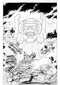 Original Guido Guidi Transformers Comic Art on eBay