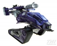 Transformers News: SDCC Exclusive Transformers / GI Joe Shockwave HISS Tank Crossover Will Include G1 Laser Barrel Accessory