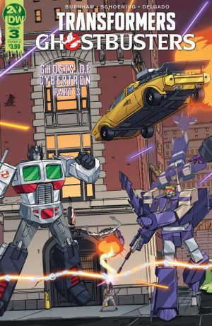 Transformers News: IDW Transformers Ghostbusters Ghosts of Cybertron Issue 3 Full Preview and Issue 4 Incentive Cover