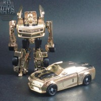 Transformers News: Takara Exclusive - Gold EZ Collection Bumblebee
