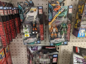 Transformers War for Cybertron: Earthrise Micromasters Found at U.S. Retail