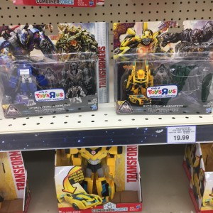 Transformers: The Last Knight Mission to Cybertron Legion 2-Packs at Australian Retail